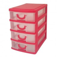 4 Drawer Mini Storage Trays