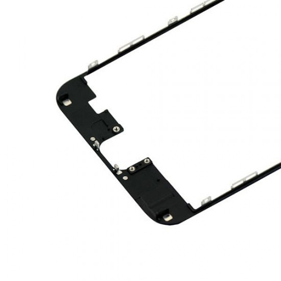 iPhone 6 Plus Front Supporting Frame With Hot Glue - Black
