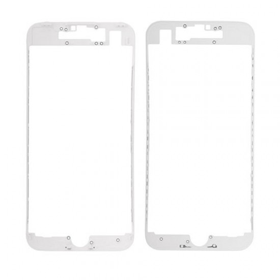 iPhone 7 Front Supporting Frame With Hot Glue - White