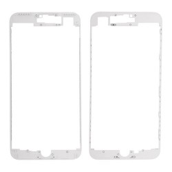 iPhone 7 Plus Front Supporting Frame With Hot Glue - White