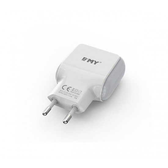 EMY Mobile Charger 2.4A ( MY-220 ) Without Cable