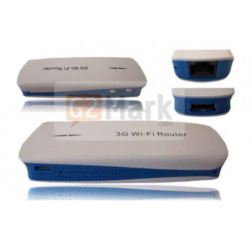 3G WiFi Router for Modem