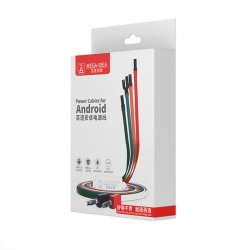 MEGA-IDEA Power Cable For Android (Samsung,Huawei,Xiaomi,OPPO,VIVO,Meizu etc.)