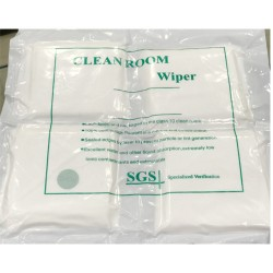 LCD Cleanroom Wiper Cleaning Cloth For Mobile Touch Screen And Camera Lens