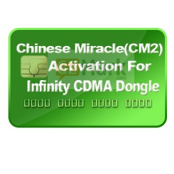 Infinity-Box/Dongle Activation and Chinese Miracle-2 (CM2) Activation for  Infinity CDMA-Tool (1 Year Support Included)
