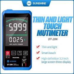 SUNSHINE DT-20N Multimeter Digital Touch Screen AC DC Voltage Tester