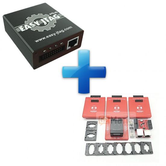 Easy JTAG Plus Box With Moorc E-Mate X EMMC BGA 13-In-1