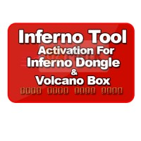 Inferno Tool Activation For Inferno Dongle / Volcano Box ( 1 year )