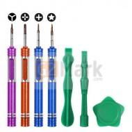 7 In 1 Opening Tools Kit Metal Screwdriver Repair Tools Set For iPhone 7 & 7 Plus