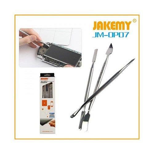 JAKEMY JM-OP07 3 in 1 Metal Spudger Set for Mobile Phone Tablet Disassembling