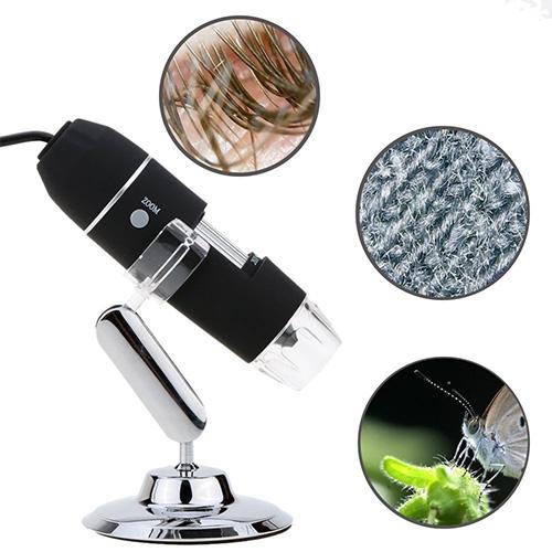 Portable USB Digital Microscope Magnification 8-LED