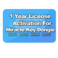 License Activation For Miracle Key ( 1 Year )