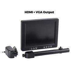 8 Inch Screen LCD Color Monitor HDMI VGA AV Display Color Screen