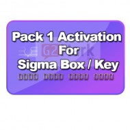 Sigma Pack 1 Activation For Sigma Box / Key
