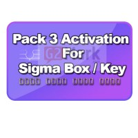 Sigma Pack 3 Activation For Sigma Box / Key