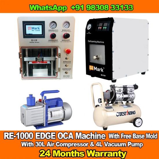 RE-1000 EDGE OCA Laminator And Bubble Remover Machine With 2 Years Warranty