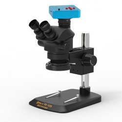 G2Mark RE-50X 7X~50X Trinocular Stereo Microscope With 48MP HD Camera & LED Adjustable Light Exclusive Quality