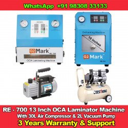 RE-700 OCA Laminator And Bubble Remover Machine  With 3 Years Warranty