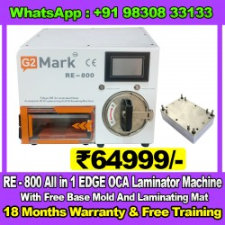 RE-800 All In 1 EDGE OCA Laminator Machine With Free Base Mold