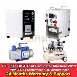 RE-900 EDGE OCA Laminator And Bubble Remover Machine With 2 Years Warranty