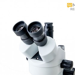 G2Mark RE-106 Pro 7X-45X Trinocular Stereo Microscope With Camera Option With LED Adjustable Light With Big Base