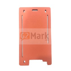 Laminating Red Mat Mold for Glass lens with frame For iPhone 6P / 6SP