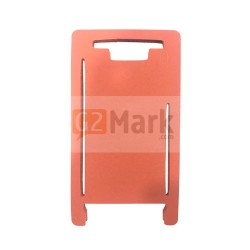 Laminating Red Mat Mold for Glass lens with frame For iPhone 7P