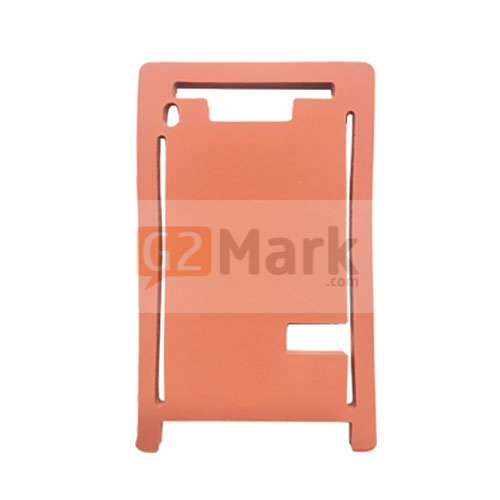 Laminating Red Mat Mold for Glass lens With frame For iPhone 8 Plus