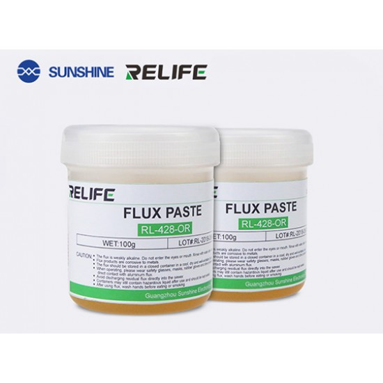 RELIFE RL-428 BGA Flux Paste  ( 100Gram )