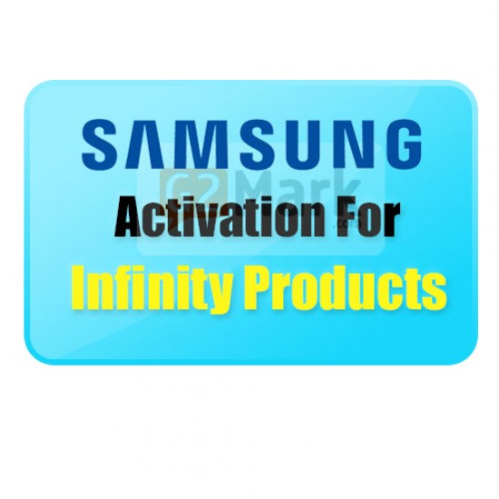 Infinity Samsung Software Activation For Infinity Products