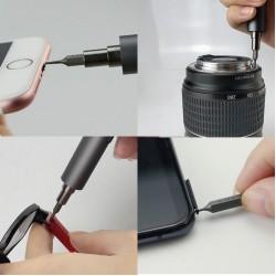 Sunshine SD-18E Precision Mini Electric Screw Driver Pocket Kit With LED Lighting