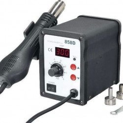 SMD 858D Digital SMD Rework Soldering Station ( Auto Cut )