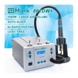 G2Mark SMD 861DW+ Hot Air Rework Station Lead-free Desoldering 1000W 220V