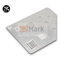 A8 3D IC Repair BGA Tin Plate Soldering Rework Stencil Steel Net for iPhone 6/6+