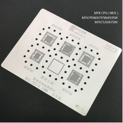 0.12MM Stencils Plates For MTK CPU (MU1)