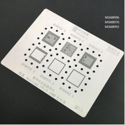 0.12MM Stencils Plates For Qualcomm CPU (QU1)