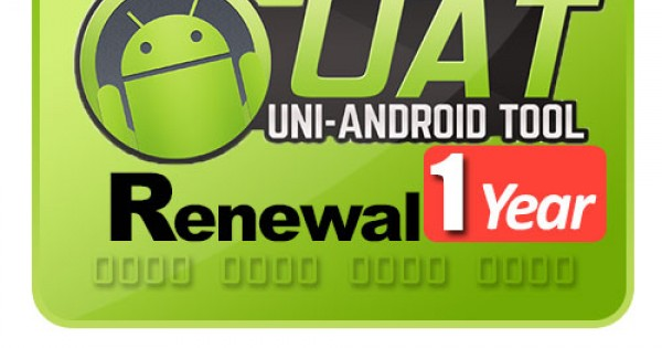 Uni Android Tool ( UAT ) Renewal For 1 Year