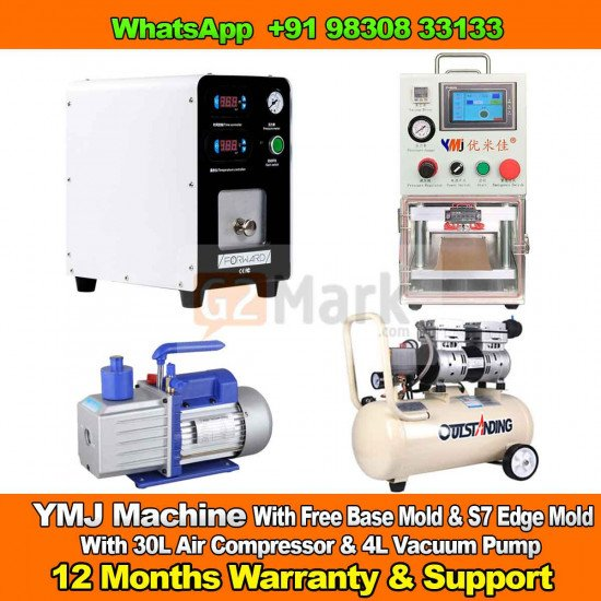 YMJ OCA Machine Full Set With Free Base & S7 Edge Mold