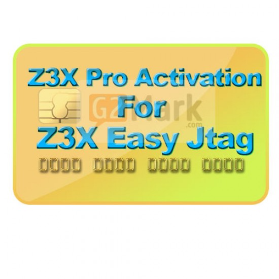 Z3X Samsung / Pro Activation For Easy JTAG Box